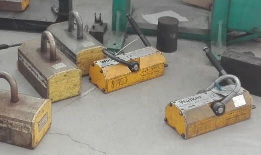 Other brands damaged lifting magnets