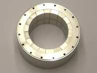 Ring magnet assembly - 8,000 Gauss axial field