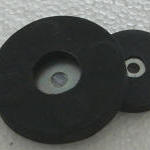 Rubber Covered Round Base Magnet RRB Series