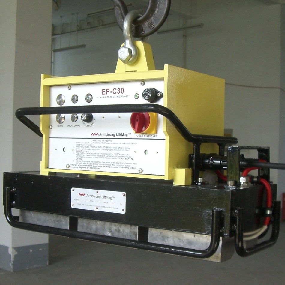High Temperature Electro Permanent Lifting Magnet